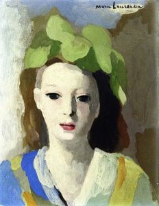 Young Woman with Hat - Marie Laurencin - The Athenaeum
