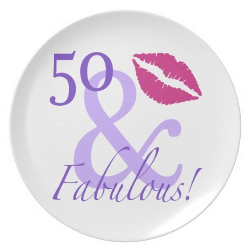 50 And Fabulous Dinner Plate  sc 1 st  Pinterest & 193 best happy birthday plates images on Pinterest   Birthday board ...