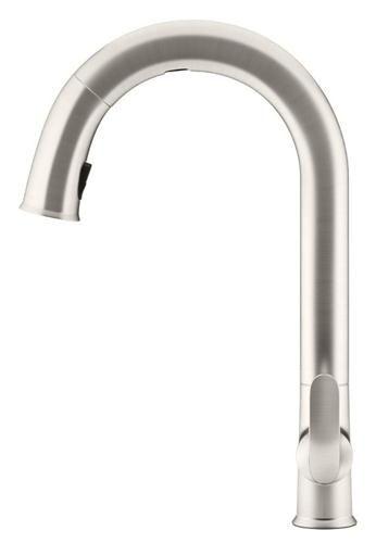 Kohler 72218-VS Sensate Electronic Touchless Kitchen Faucet, Stainless Steel