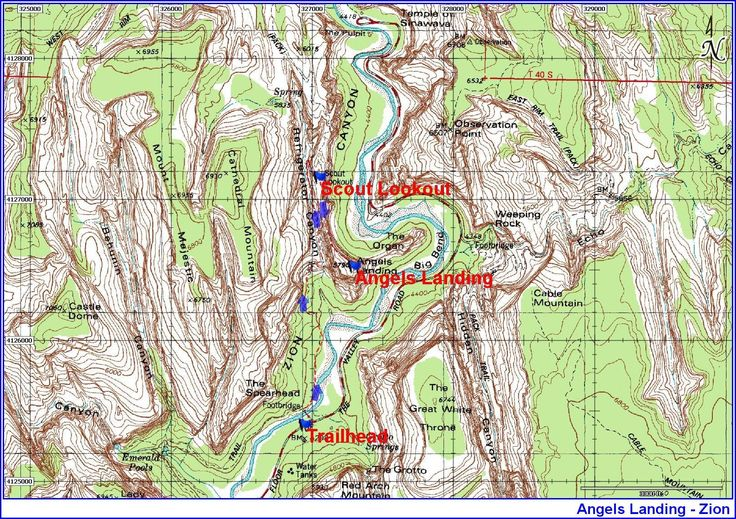 Utah Topographic Maps