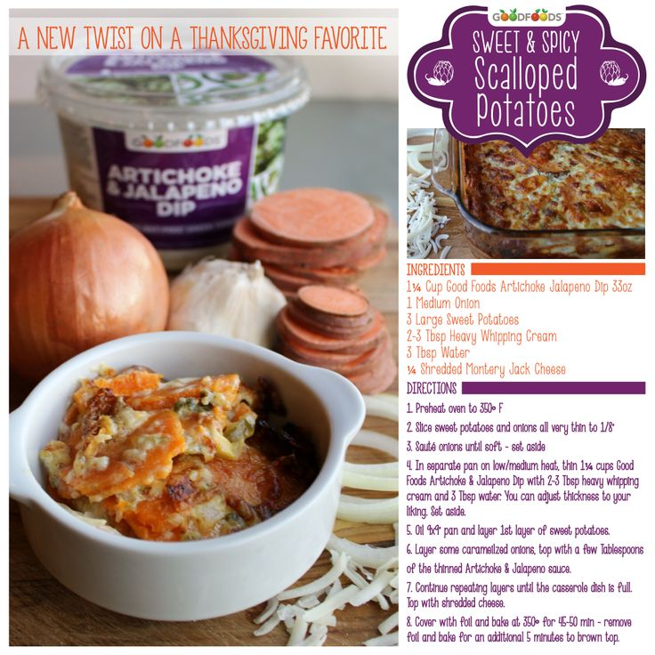 Spinach-Artichoke Scalloped Potatoes Recipe — Dishmaps