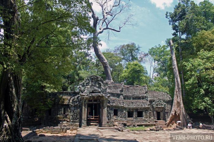 Камбоджа - день 21. Храмовый комплекс Ангкор Ват - малый круг