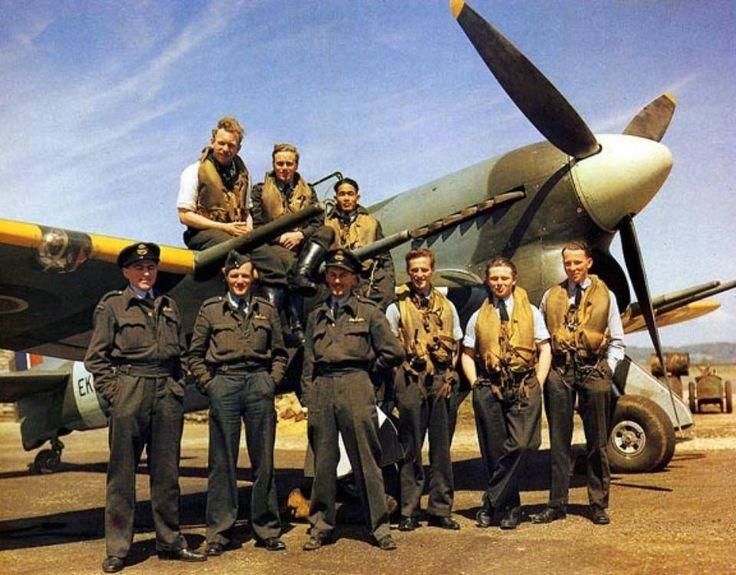 Hawker Typhoon NZ squadron