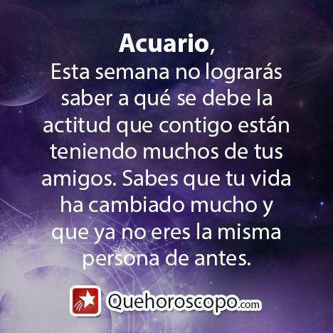 #Horoscopo #Acuario #Amor #Trabajo #Astros #Predicciones #Futuro #Horoscope #Astrology #Love #Jobs #Astrology #Future  http://www.quehoroscopo.com/horoscopodehoy/acuario.html