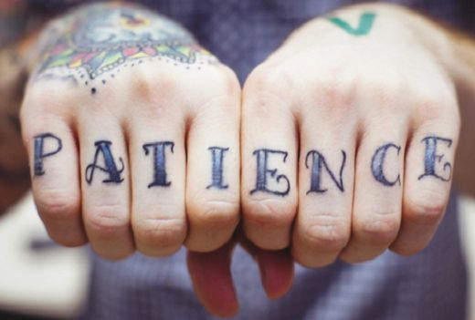 Patience #tattoo - via @Tattoo Ideas Zone