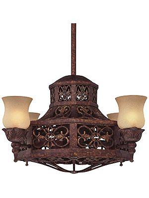 Vintage Ceiling Fans. Fire Island Fan D'lier In New Tortoise Shell