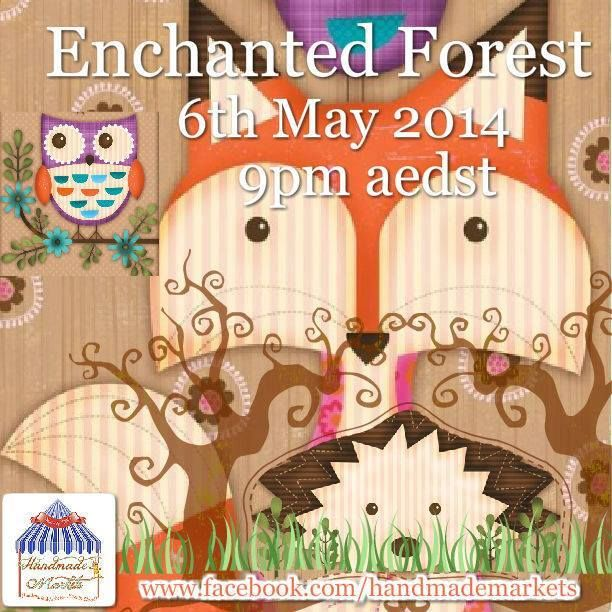 Enchanted Forest Market Night opens at 9pm, on Tuesday 6th May, 2014