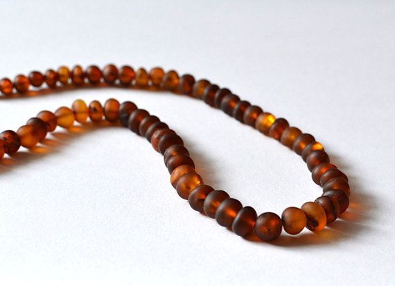 Natural Amber Mens Necklace Men's Jewelry Baltic Amber by KARUBA