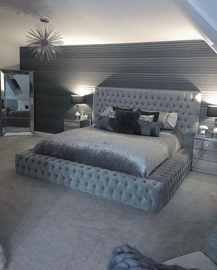 Simple Master Bedroom Design Ideas For Inspirations #bedroomideas #masterbedroomideas #bedroomdesign » aesthetecurator.com