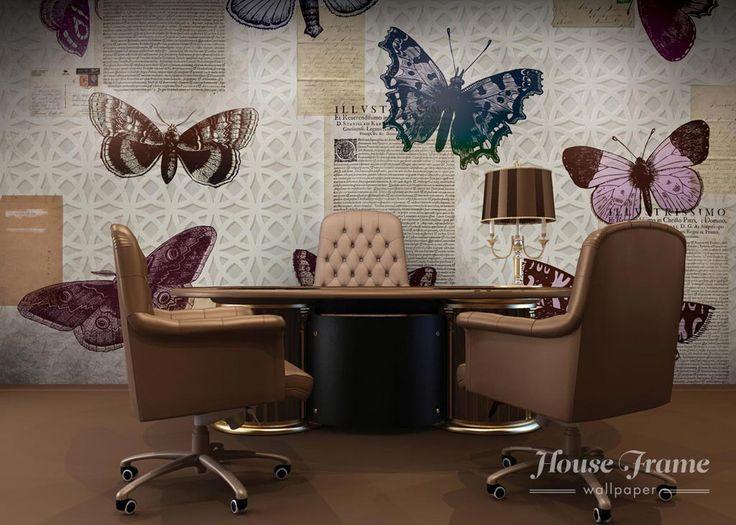 House Frame  HF038 - BUTTERFLIES AND NEWS