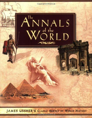 The Annals of the World by James Ussher http://www.amazon.com/dp/0890515107/ref=cm_sw_r_pi_dp_cENmwb07B0PSQ