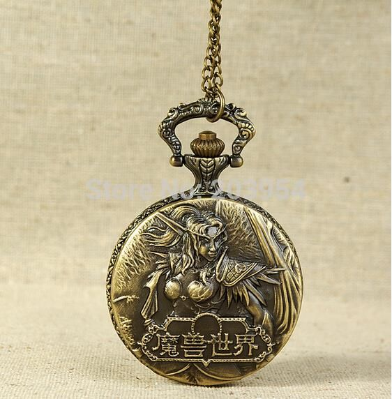 Buy World of Warcraft Steampunk Vintage Bronze Quartz Pocket Watch online $15.90 with FREE shipping!!    #warcraft #worldofwarcraft #warcraftmovie #wowaddict #warlordsofdraenor #frostmourne #horde #alliance #blizzard #warcraftaddict #forthealliance #forthehorde #azeroth #heartstone #overwatch #videogames #gameaddict