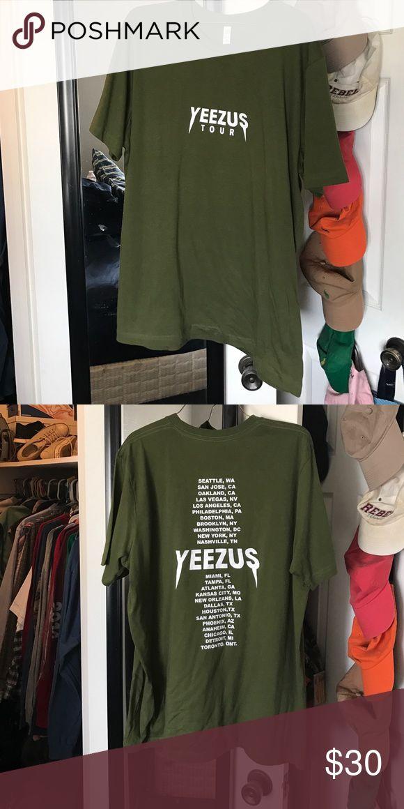 Yeezus tour shirt I've never worn the shirt! Shirts Tees - Short Sleeve