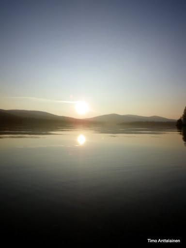 Luirojärvi. Saariselkä, Finland