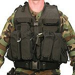 Blackhawk's Delta Operators Assault Vest—Created for our nation's elite. This rugged vest system is designed for the gunfighters of Delta Force. But it can hold the gear you need for almost any critical mission.