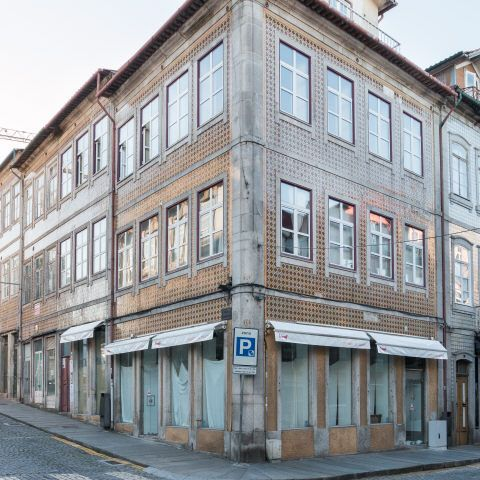 Braga | Rua Dom Frei Caetano Brandão, n.º 39 [© Libório Manuel Silva] #Azulejo #AzInfinitum #ILoveBraga
