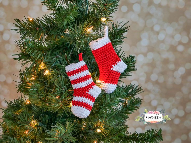 Mini Stockings Ornament | Christmas Traditions CAL