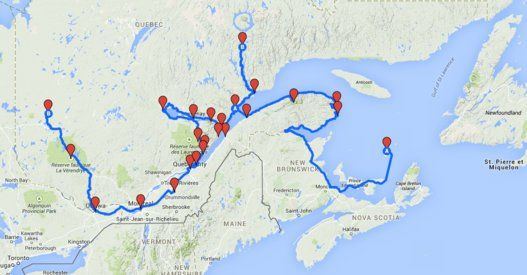 L'ultime roadtrip québécois
