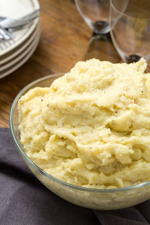These Three Cheese Mashed Potatoes are the ultimate side dish for Thanksgiving.