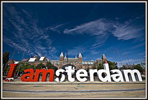 I amsterdam. I was here!