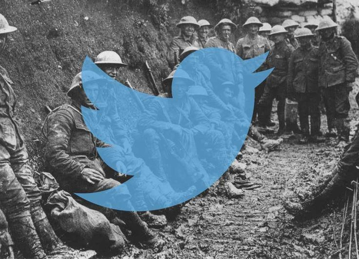 Using twitter to explain the July Crisis and the outbreak of World War One. All the accounts you see below were set up to...