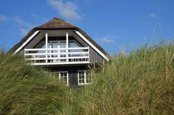 reetgedecktes Ferienhaus, Henne Strand, Dänemark
