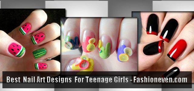 Best Teen Nail Art Designs 2016 Latest Nail Paint Ideas