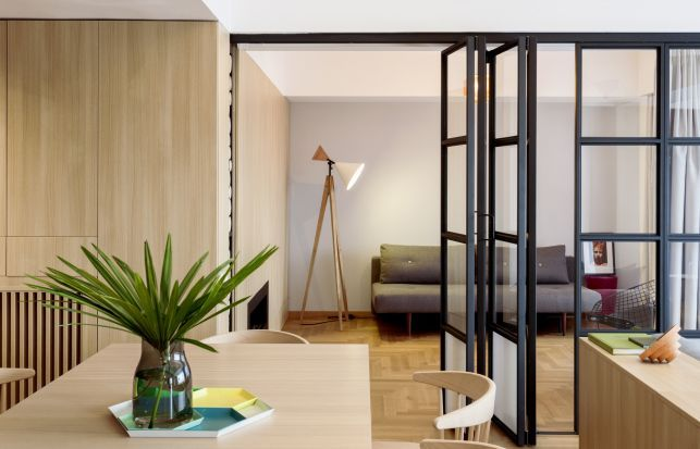 Design contemporan la superlativ intr-un apartament din Bucuresti - imaginea 8