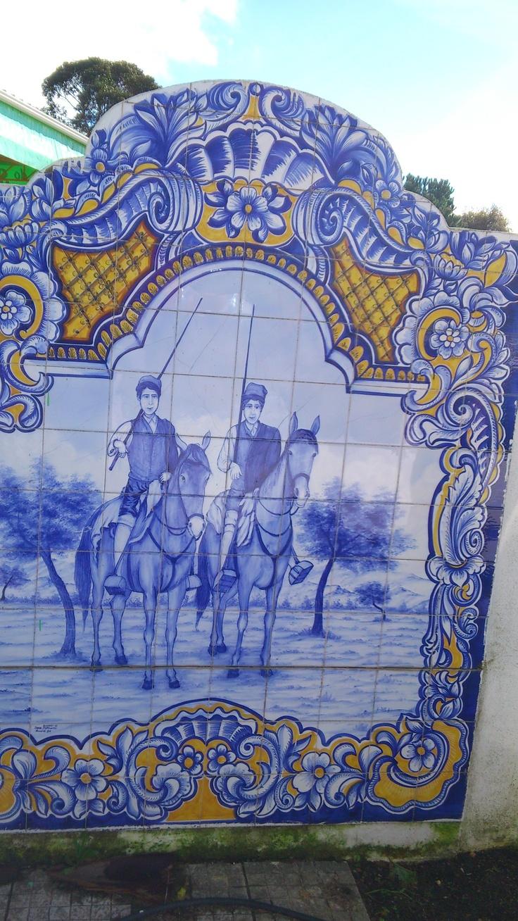 17 melhores imagens sobre portuguese tiles no pinterest for Azulejos sobre azulejos