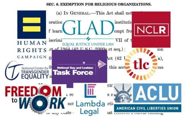 Three Reasons LGBT Groups Are Fighting Over A Bill That Isn't Going To Become Law