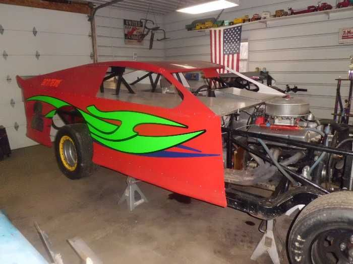 Pierce Race Cars: I Have A O7 Pierce Modified # 527N . Selling As Race Ready