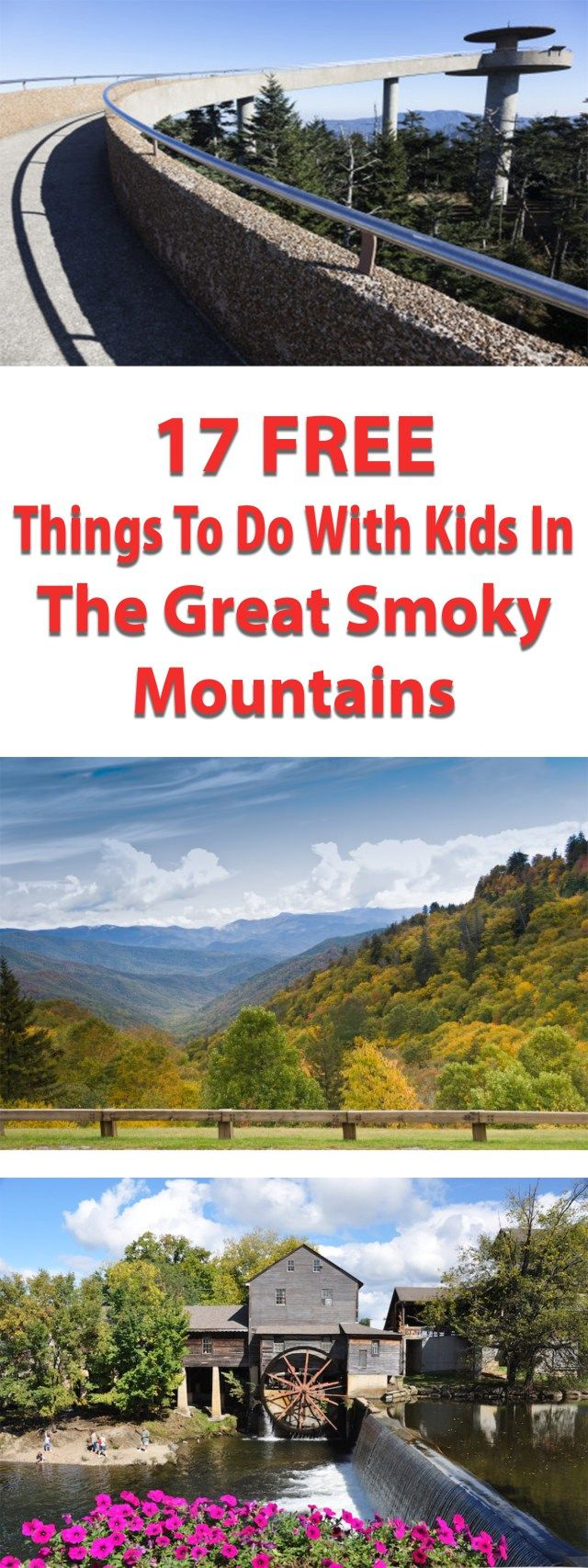 17 Free Things to do With Kids in The Great Smoky Mountains – have-kids-will-travel.com