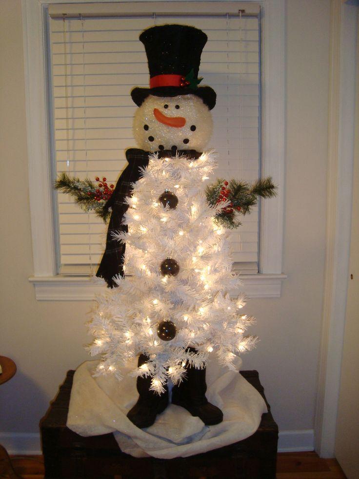Snowman Christmas Tree!!