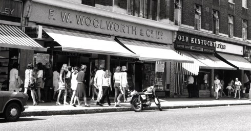 1960s Kings Road, London.