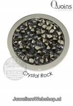 Quoins munt disk QMOK-01-AN Crystal Rock Grijs Medium