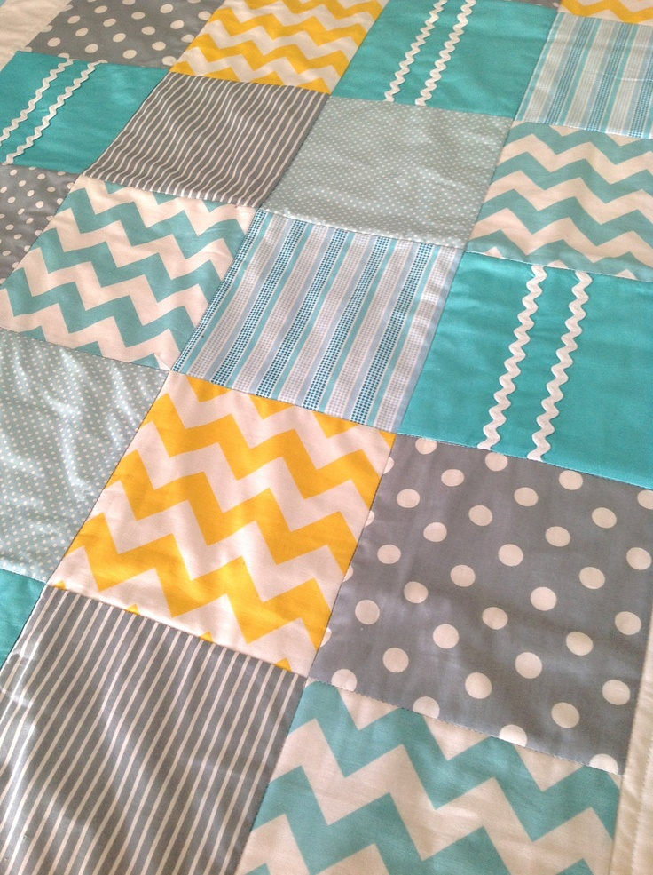 Baby crib quilt by alphabet monkey i just love the for Nursery monkey fabric