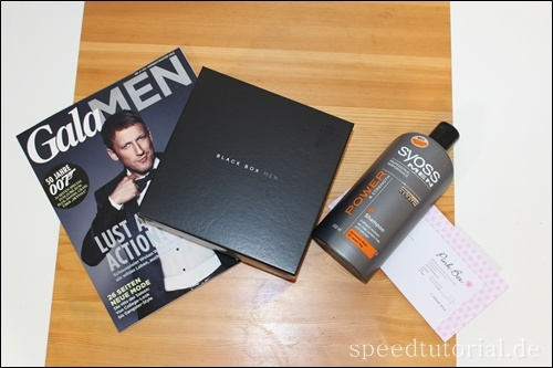 Black Box Men | Unboxing! http://speedtutorial.de/2013/01/black-box-men-unboxing/