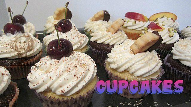 cupcake bicolore