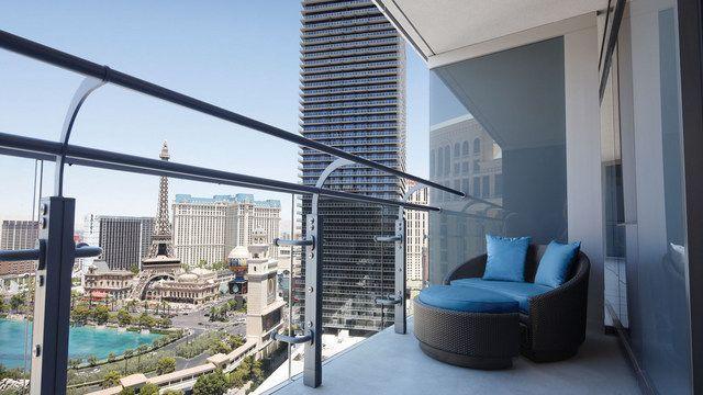 Fabulous Terrace Studio Premium View Cosmopolitan Of Las Vegas Interior Design Ideas Tzicisoteloinfo
