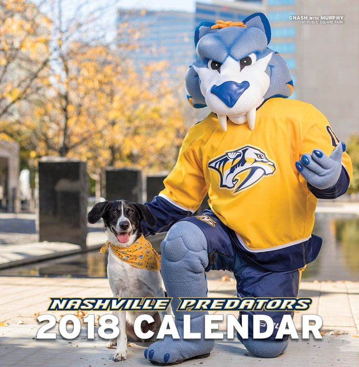 Can I drop a stocking-stuffer suggestion? This one's especially appropriate for, say, a lady in your life who loves the Nashville Predators almost as much as she loves puppies. Bonus: By buying one, you're helping Nashville's Proverbs 12:10 Animal Rescue too.