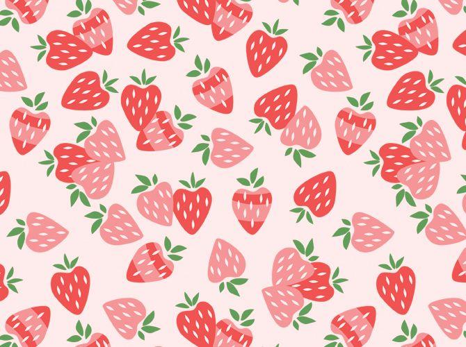 kawaii strawberry wallpaper vintage - photo #14