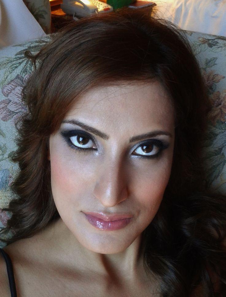 Arabic makeup in Rome italy http://janitahelova.com/