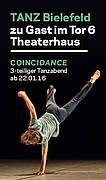 COINCIDANCE - Dreiteiliger Tanzabend - THEATER BIELEFELD