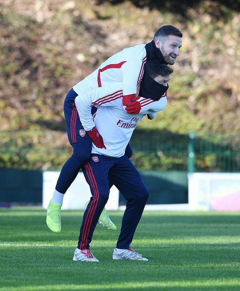Pictures of THE ARSENAL — Mesut Ozil of Arsenal during ...