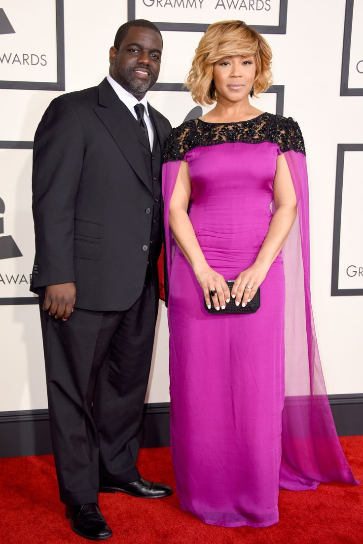 Warryn Campbell and Erica Campbell . The 2015 Grammy Awards - Gallery - Style.com