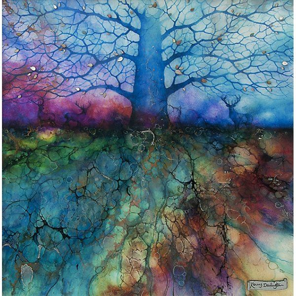Kerry Darlington - Sacred Grove (Artist Proof's Available)