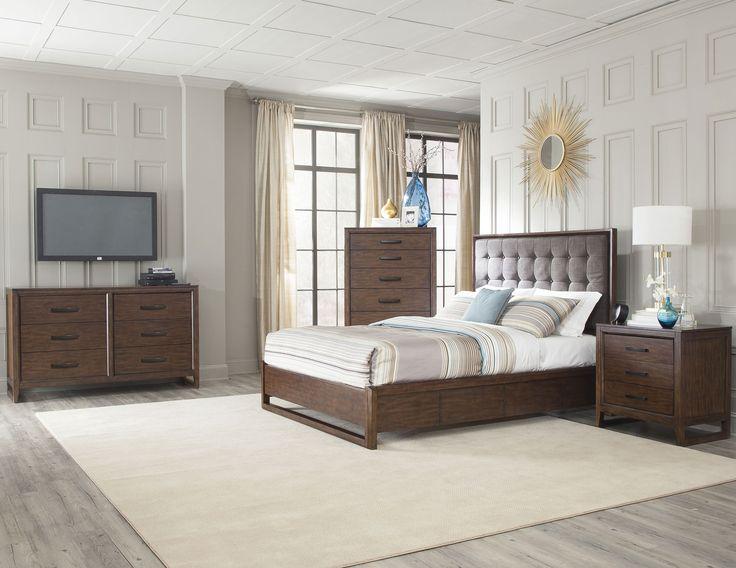 Mercer Queen Bedroom Group By Cresent Fine Furniture