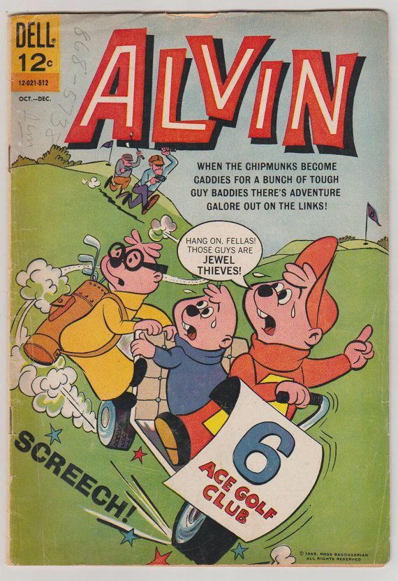Alvin: V1 13 Comic Book. VG October to by RubbersuitStudios #alvinandthechipmunks #comicbooks