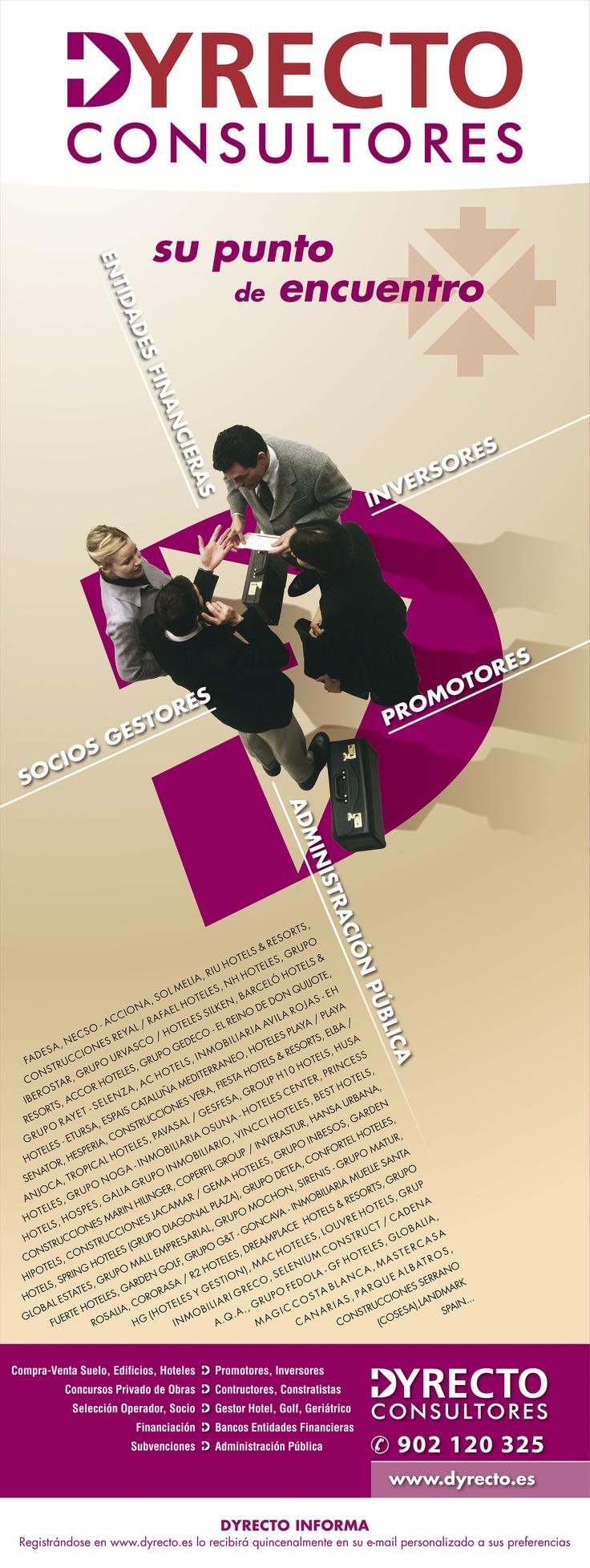 Dyrecto punto de encuentro entre inversores, promotores, socios gestores, entidades financieras ...