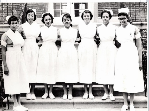 1960 Philadelphia. Mercy Douglas Hospital Nursing school. The last segregated class.